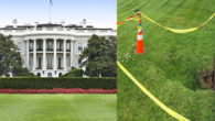 While it sounds like the lead-in to a late night talkshow joke, it really has happened — a sinkhole has opened up on one side of the White House lawn. […]